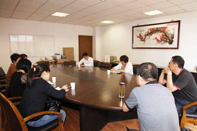 南京市教研室,郑州五中,青岛莱西一中老师来校听课交流